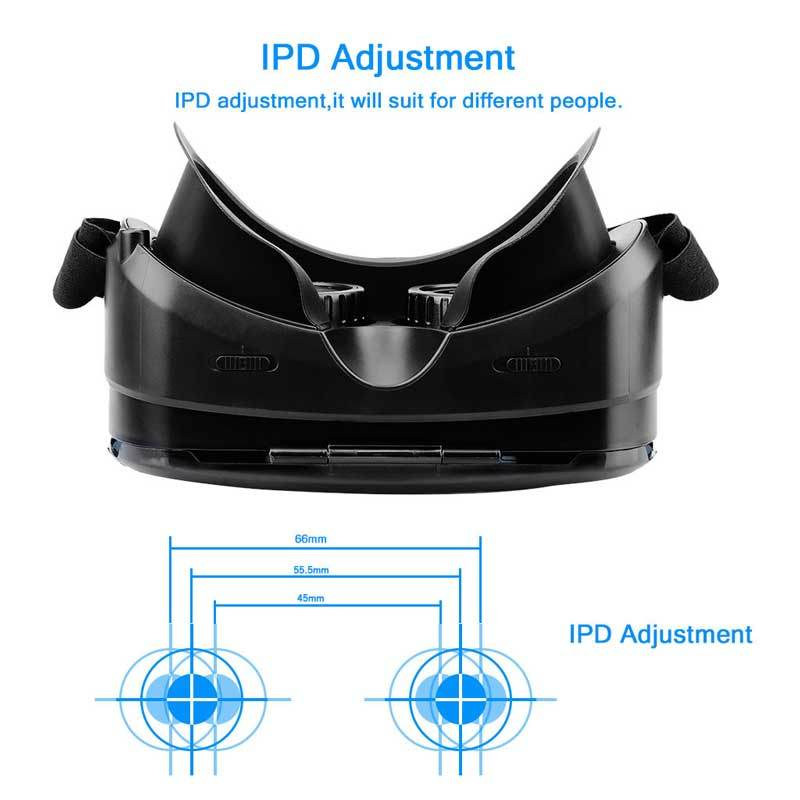 Hot Selling High Quality Virtual Reality 3D Vr Box Glasses