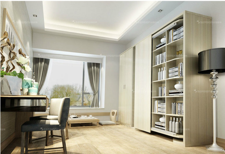 Sepsion Revolving Murphy Wall Beds Invisible Beds With Cabinet