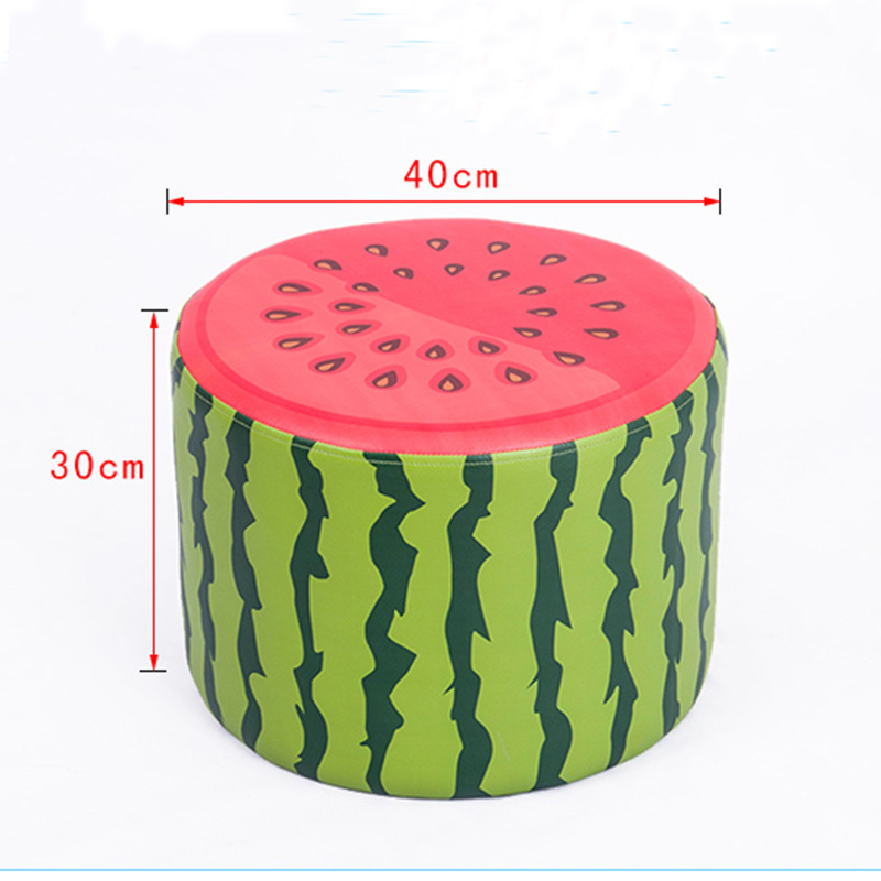 Toddler Fruit Cartoon Seating Stool Ottoman Stool/Children Furntiure