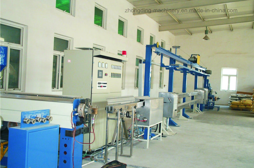 Zd-45 UL Electronic Wire and Automotive Wire Extruder Machine