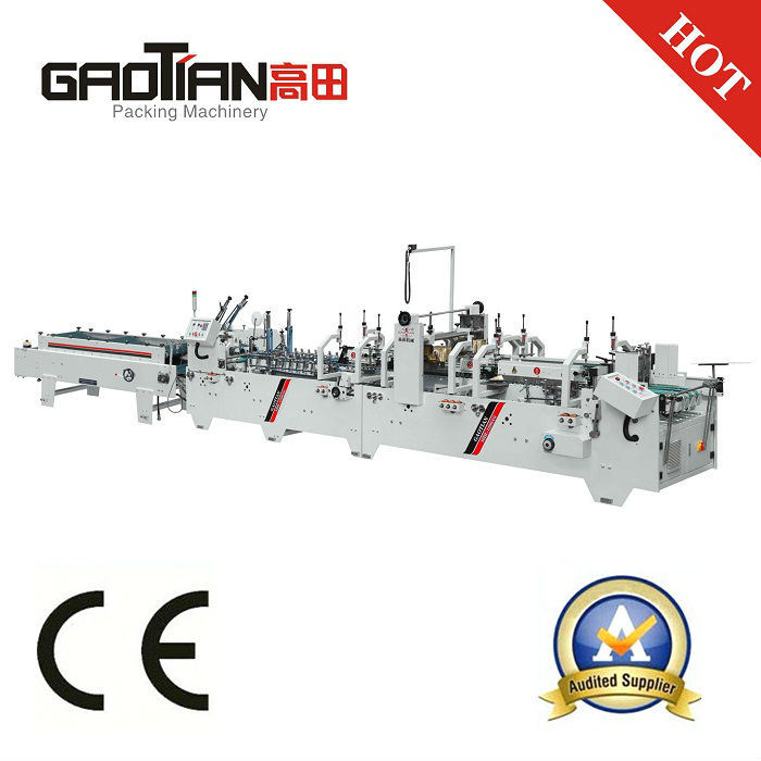 Shh-E Model Automatic Corrugated Box Folder Gluer Machine with Bottom Lock