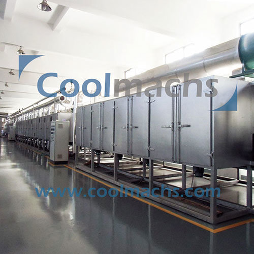 Belt Dryer for Vegetables and Fruits Dehydration Processing Line