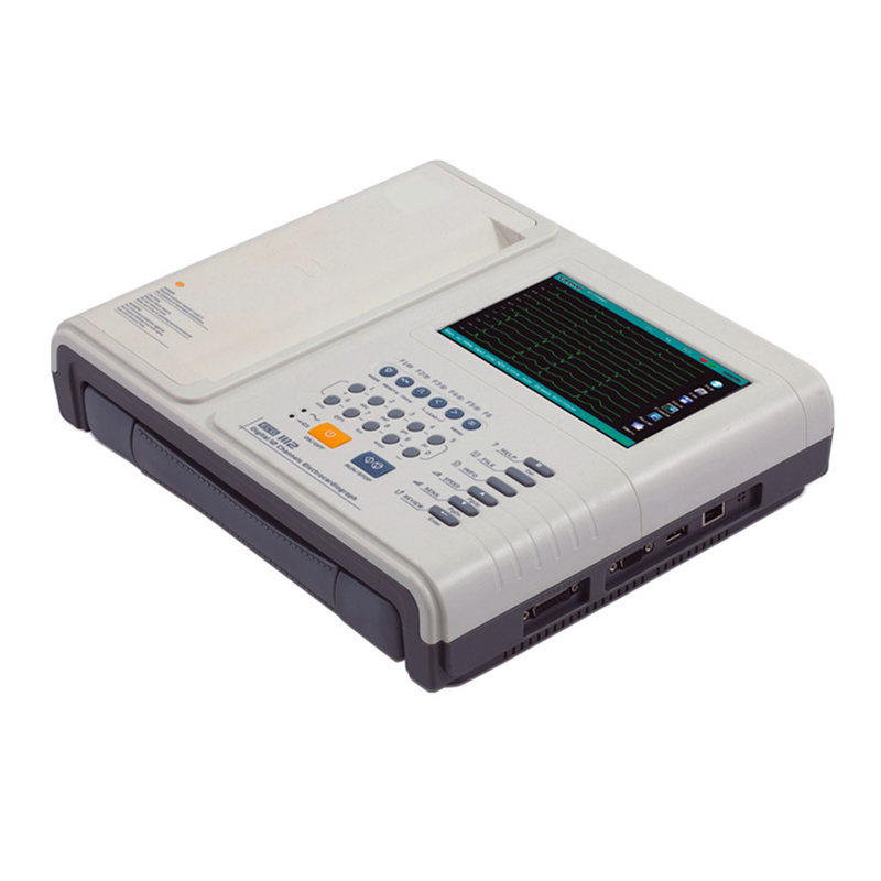 12 Channel Digital ECG/Electrocardiograph with CE FDA (1112M)
