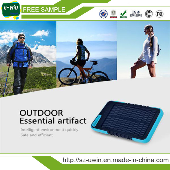Promotional Gift Waterproof Solar Mobile Phone Charger