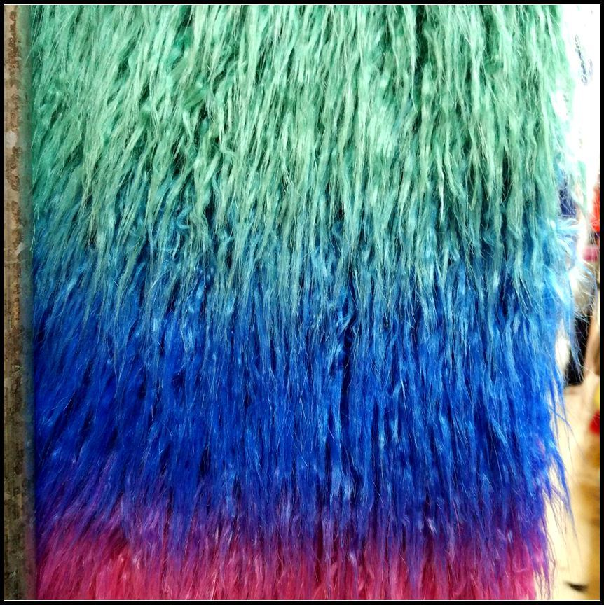 High Quality Colorful Faux Fur for Fur Coat