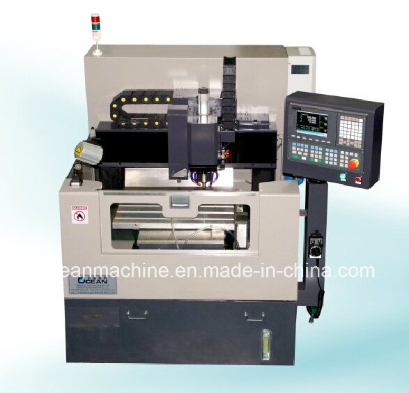Single Spindle High Precision Inner-Hole Processing CNC Machine with CCD