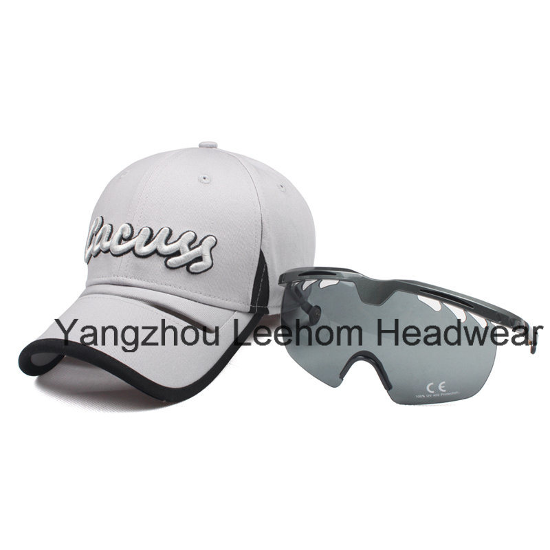 New Fashion Outdoor Sport Glasses Protective Baseball Golf Cap