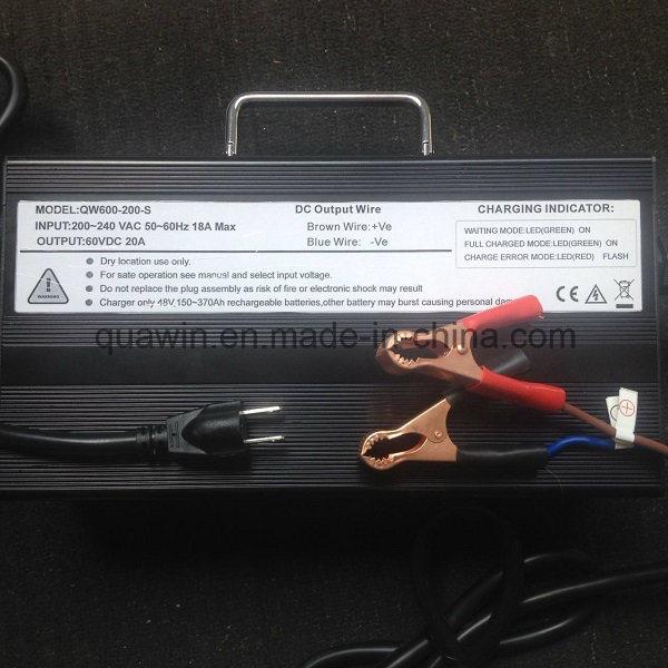 60V 20A Lead Acid Battery Charger