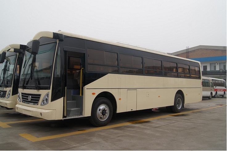 Right Hand Drive Luxury Coach Tourist Bus 40-60seats Low Price