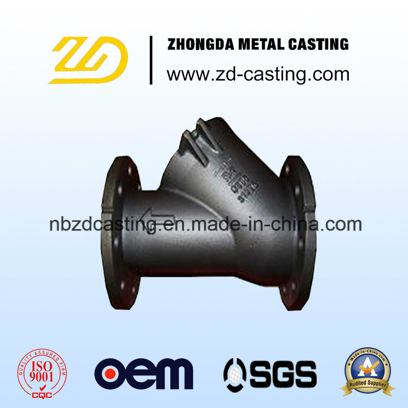 OEM Alloy Steel Casting CNC Machining for Building Hardware Part