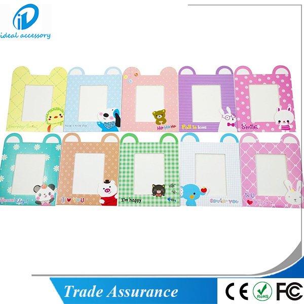 10PCS/Set Cartoon Pattern 3inch Paper Photo Film Decor Hanging Frame