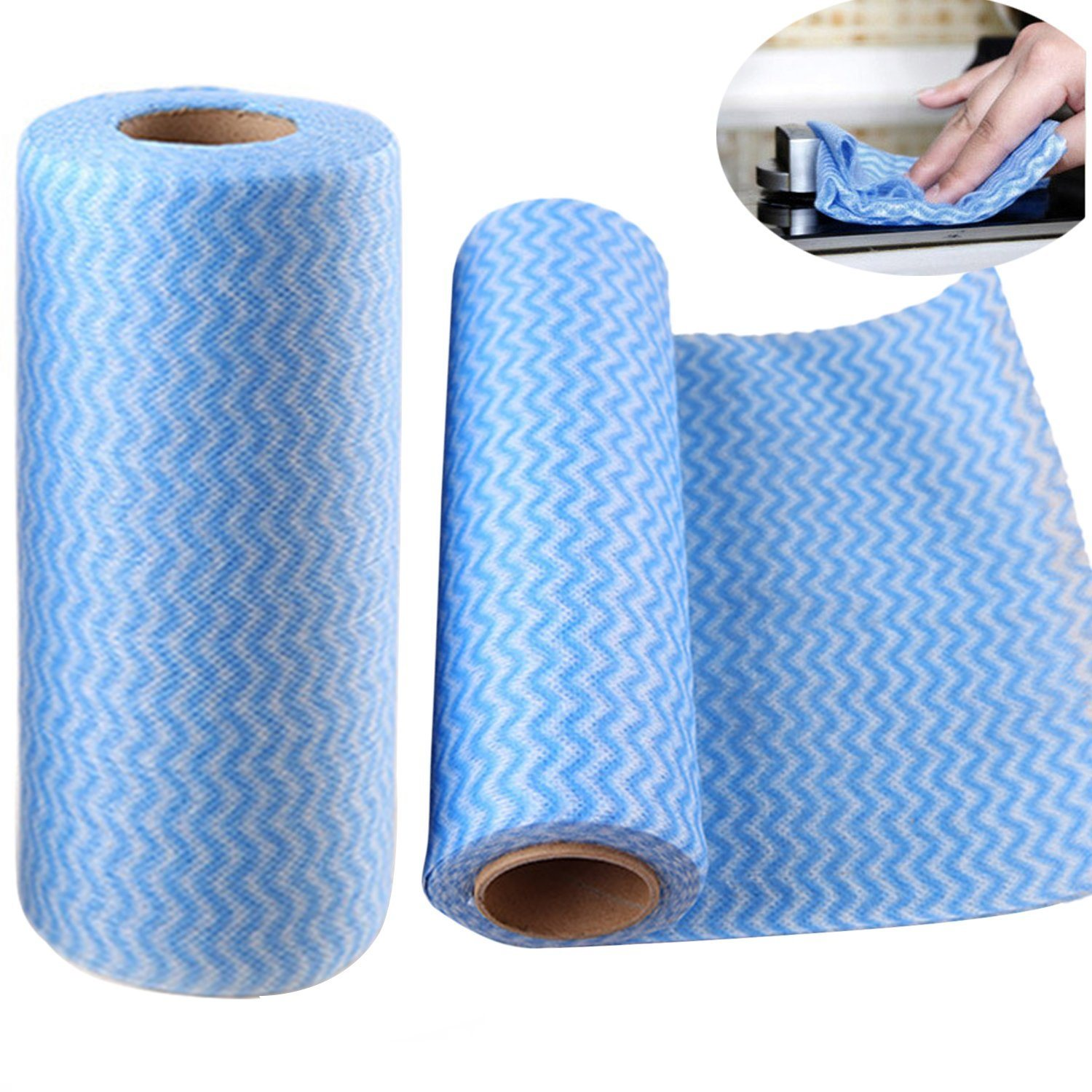 Spunlace Non Woven Cleaning Cloth with Break Point