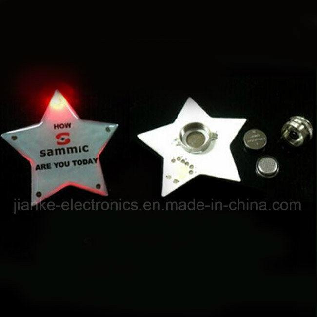 Factory Customized Design LED Bliking Magnet