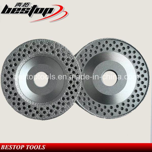 Vacuum Brazed Cup Shape Diamond Grinding Wheel for Concrete