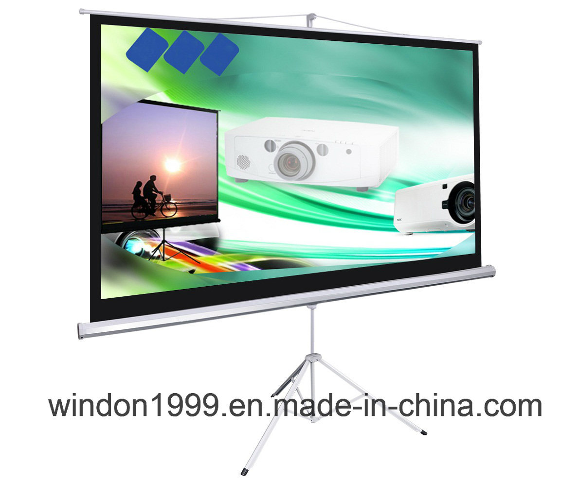 Tripod Projector Scren Pull up Projection Screen Factory Coustomized
