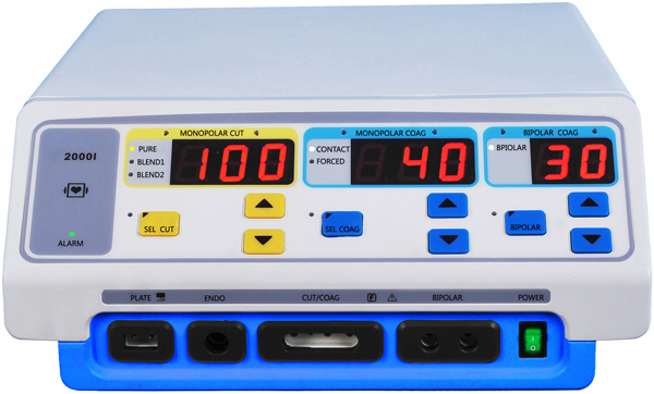 Mcs-2000I Huger Diathermy, LED Electrosurgical Unit