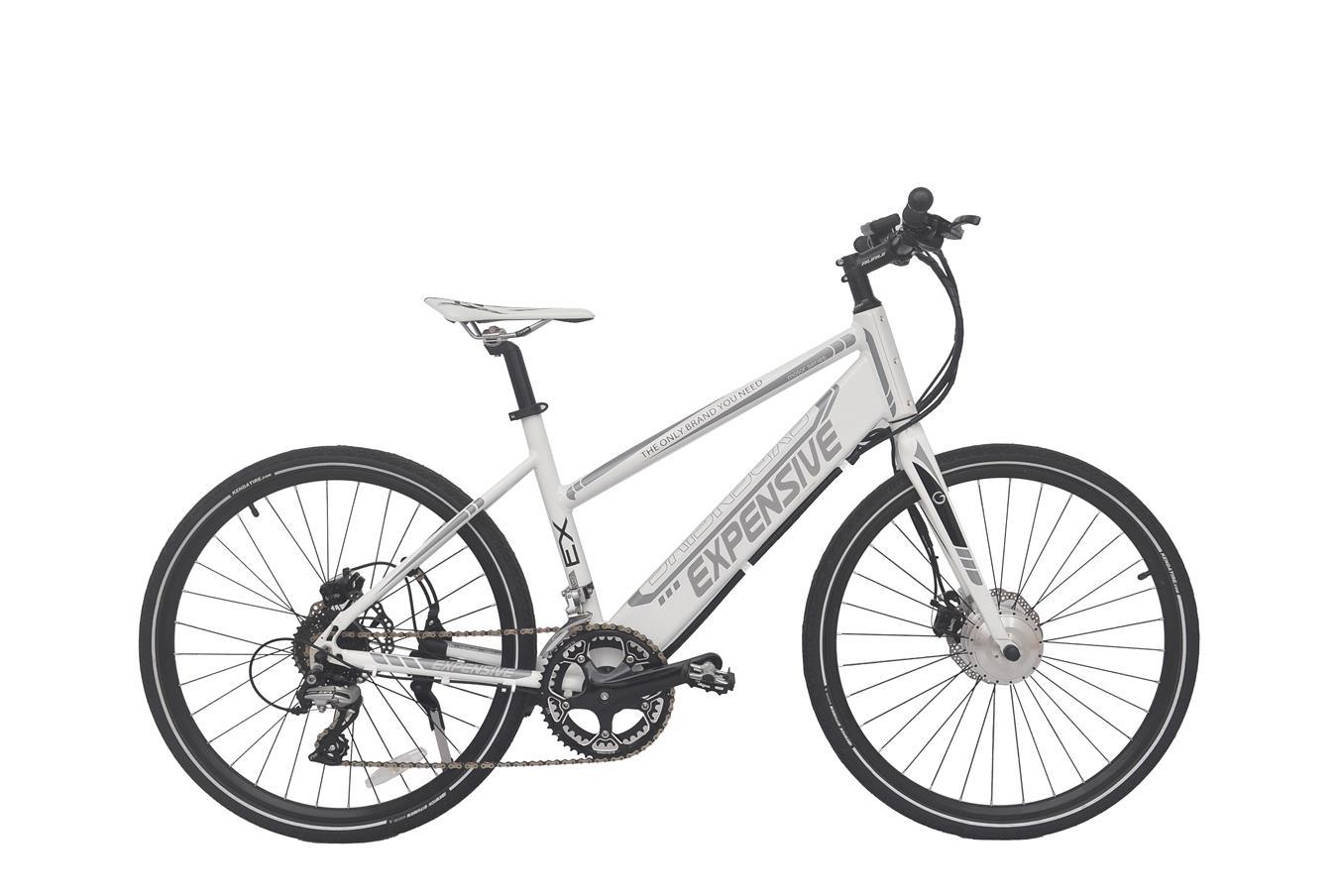Aluminum Alloy 6061 City Chopper Electric Bicycle 48V