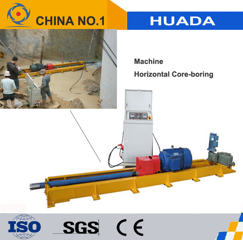 Dual - Conversion Horizontal Core-Boring Machine