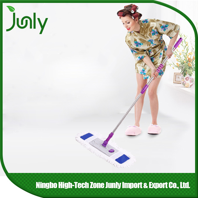 Portable Home Dust Flat Microfiber Floor Cleaning Mop