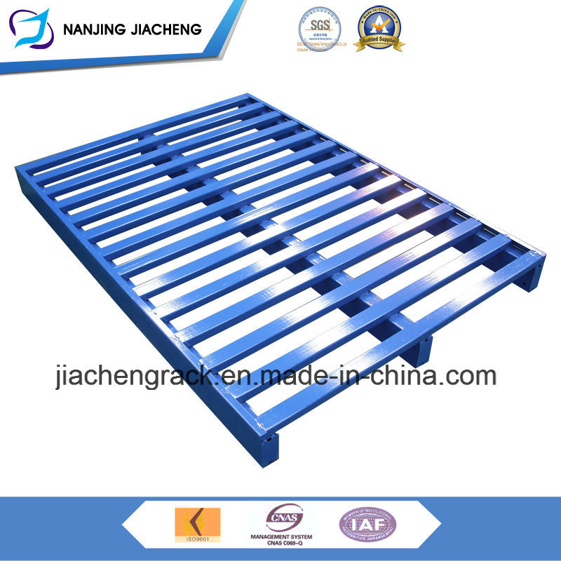 Four Ways Entrance and Single Face High Quality Q235 Steel Pallet