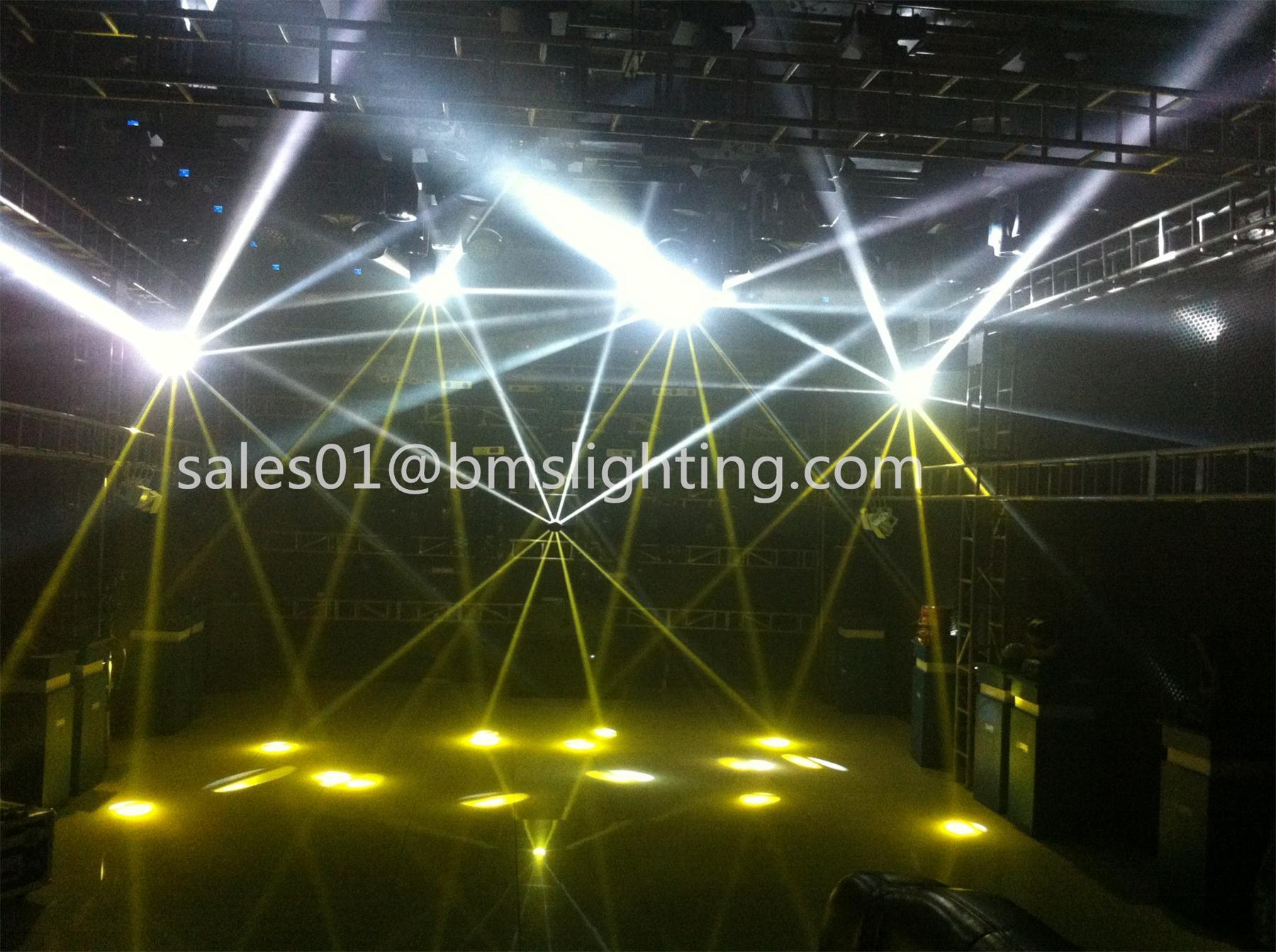 Cheap 5r 200W Sharpy Rolling Scan Beam Light (BMS-2079)