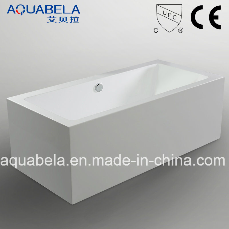 Luxury Bathroom Acrylic Rectangle Freestanding Bathtub (JL629)