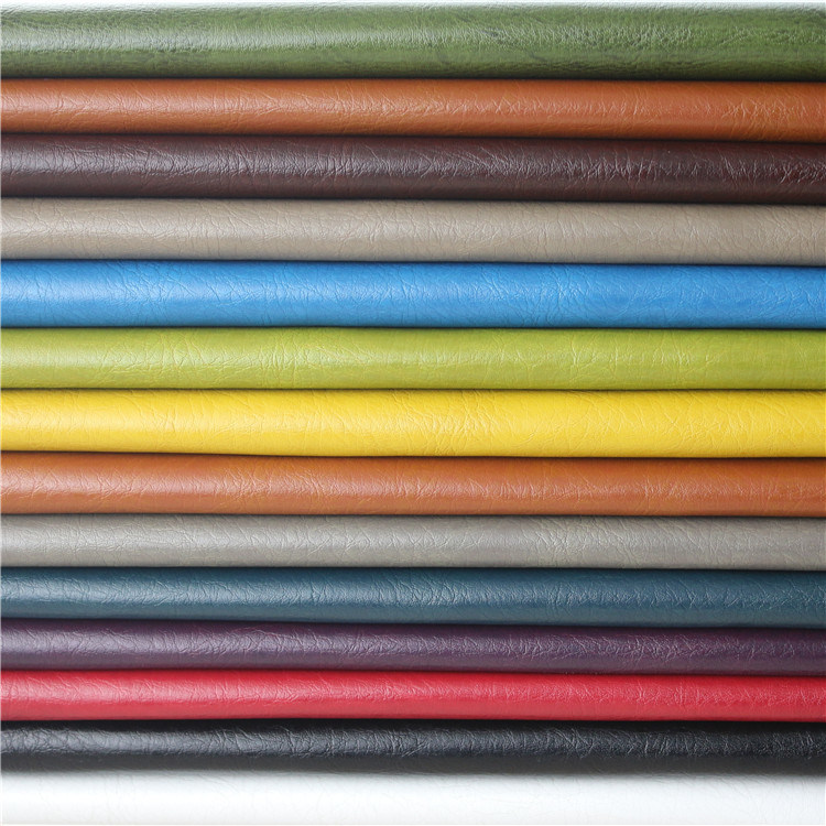 New Solvent-Free High Performance Crumpled Furniture PU Leatherette