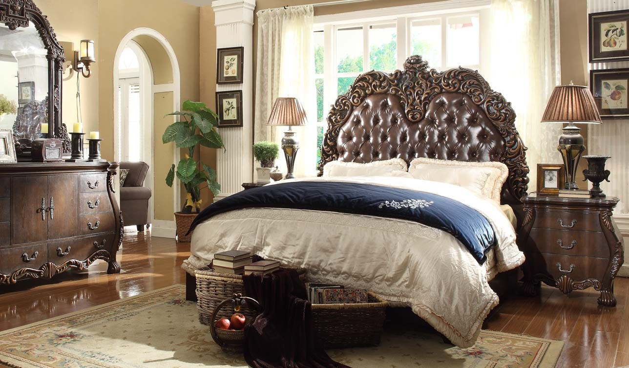images of luxury antique wooden bedroom furniture king size bed