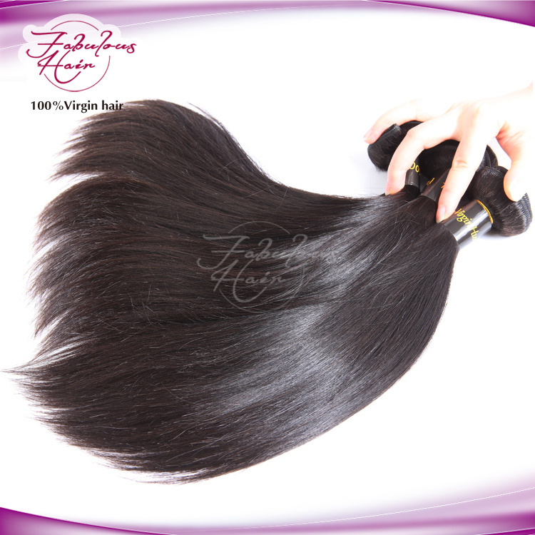 8A Natural Human Virgin Brazilian Hair Weave Remy Hair