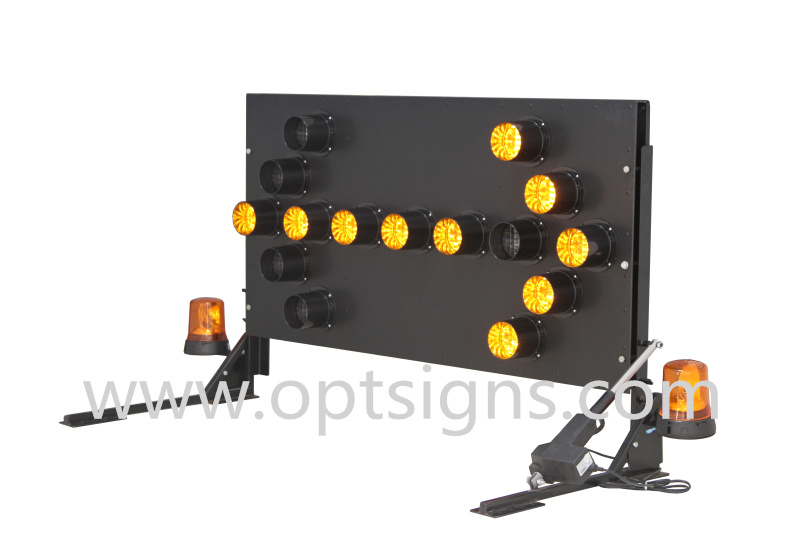 Australia Strandard LED Flashing Warning Light Truck Mounted Arrow Boards