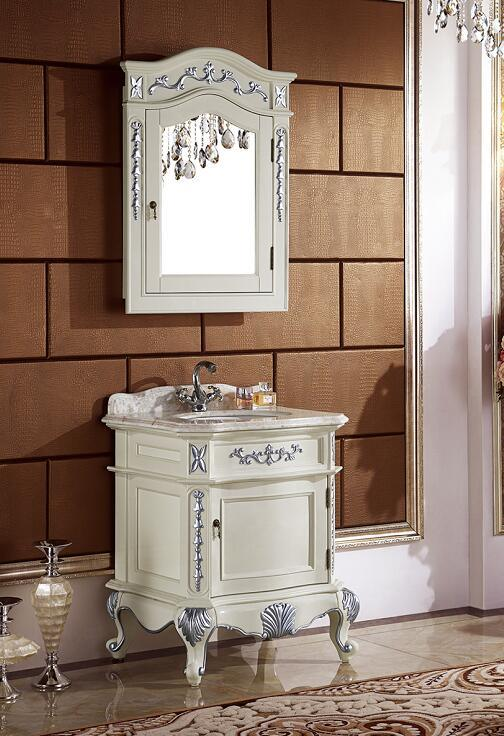 Antique Solid Wood Bath Vanity