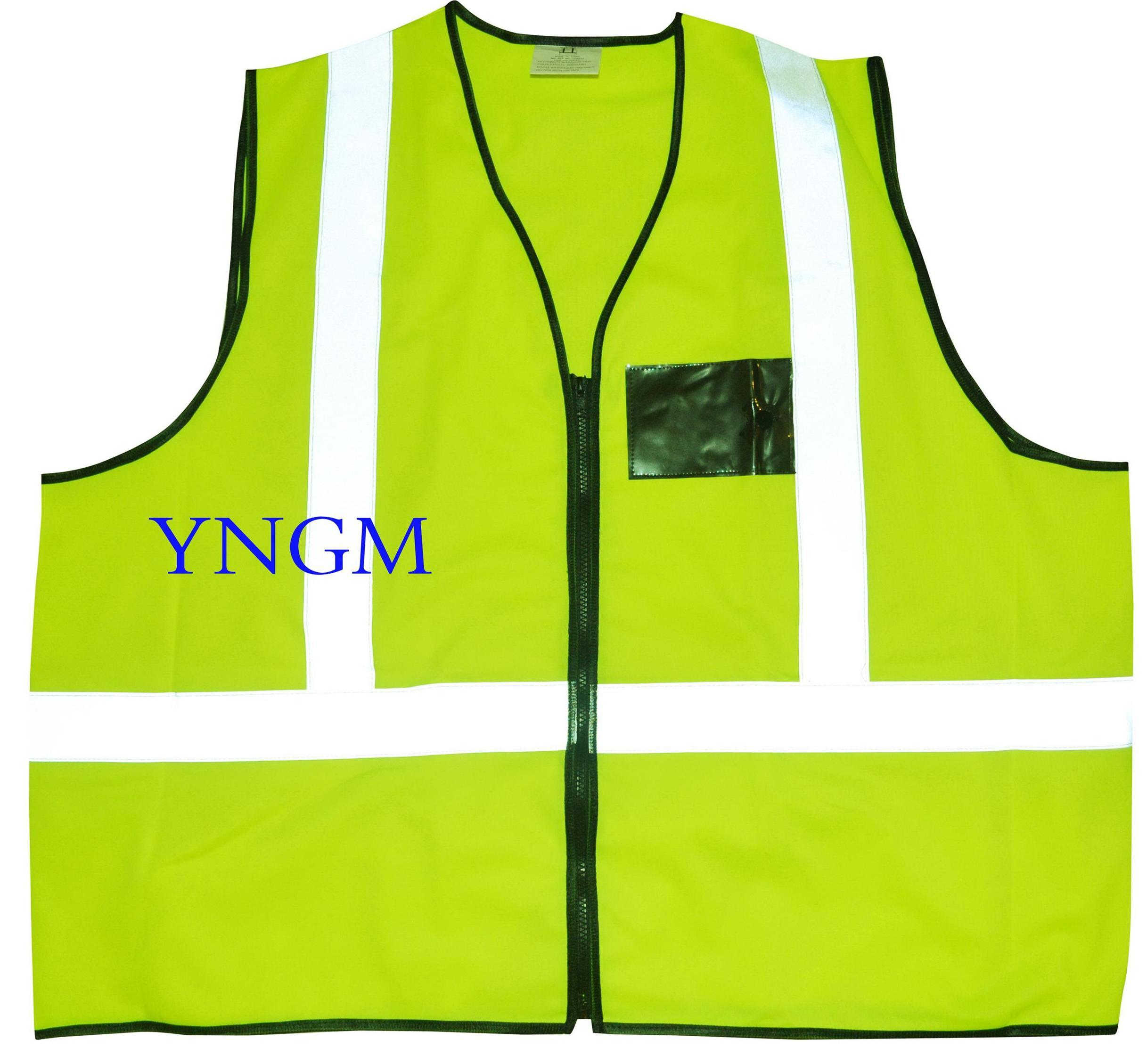Hot Sale En20471 & ANSI High Visibility Class 2 Reflective Safety Vest