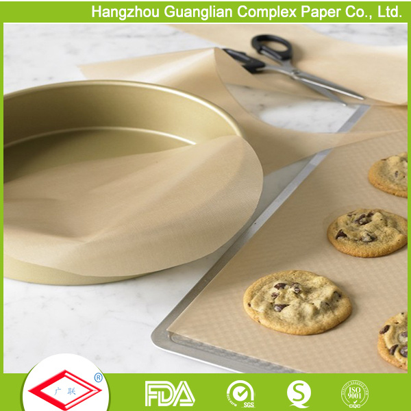 40cmx60cm FDA Approved Non-Stick Silicone Coated Baking Parchment Paper