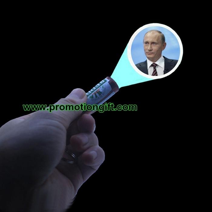 Logo Projector Keychain Light