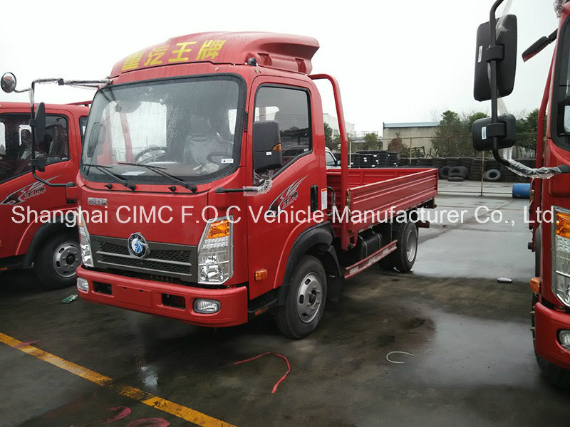Sinotruk Cdw 3t Small Cargo Truck with Isuzu Engine