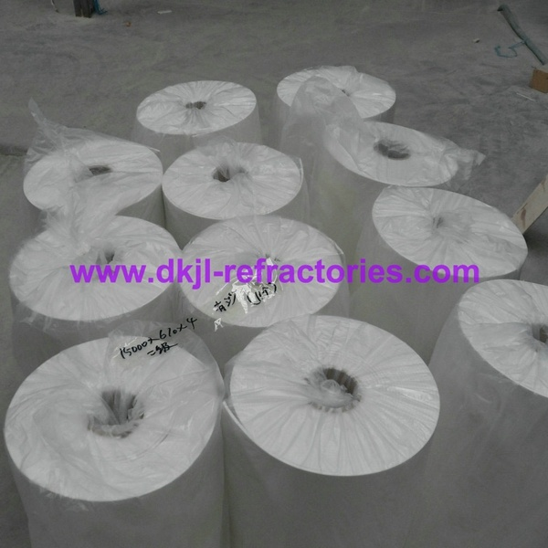 1260 High Pure Ceramic Fiber Paper for Furnace Heat Insulation