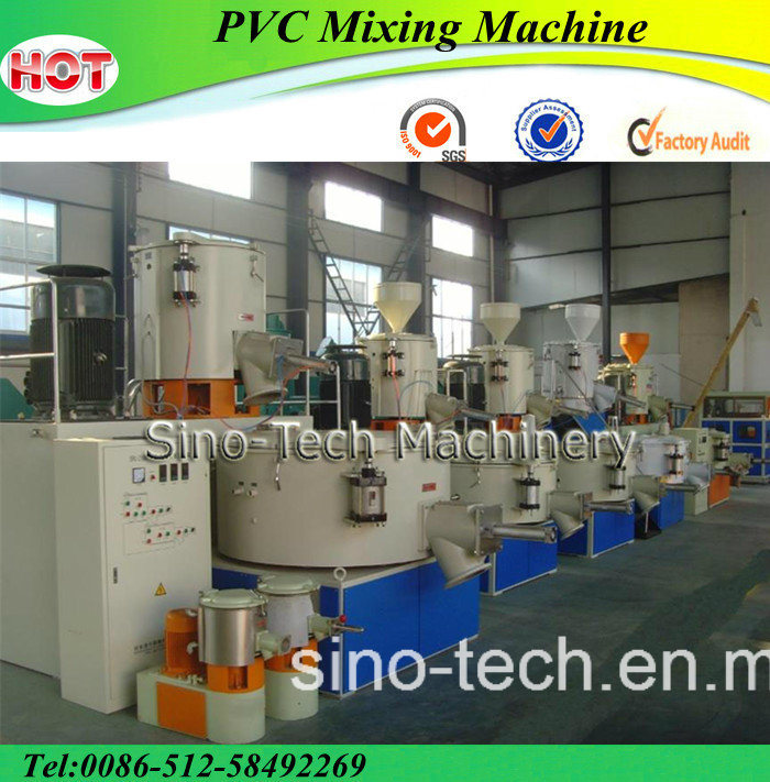 Best Sale High Speed PVC Mixer Plastic Mixing Machine
