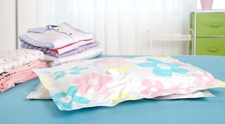 Flat Clear Plastic Vacuum Storage Bag Sealer