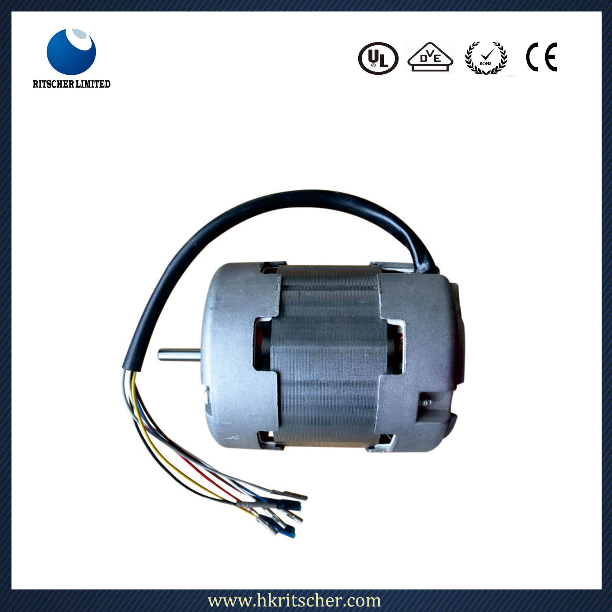 Auto Parts Capacitor Motor for Home Appliances Dryer Motor
