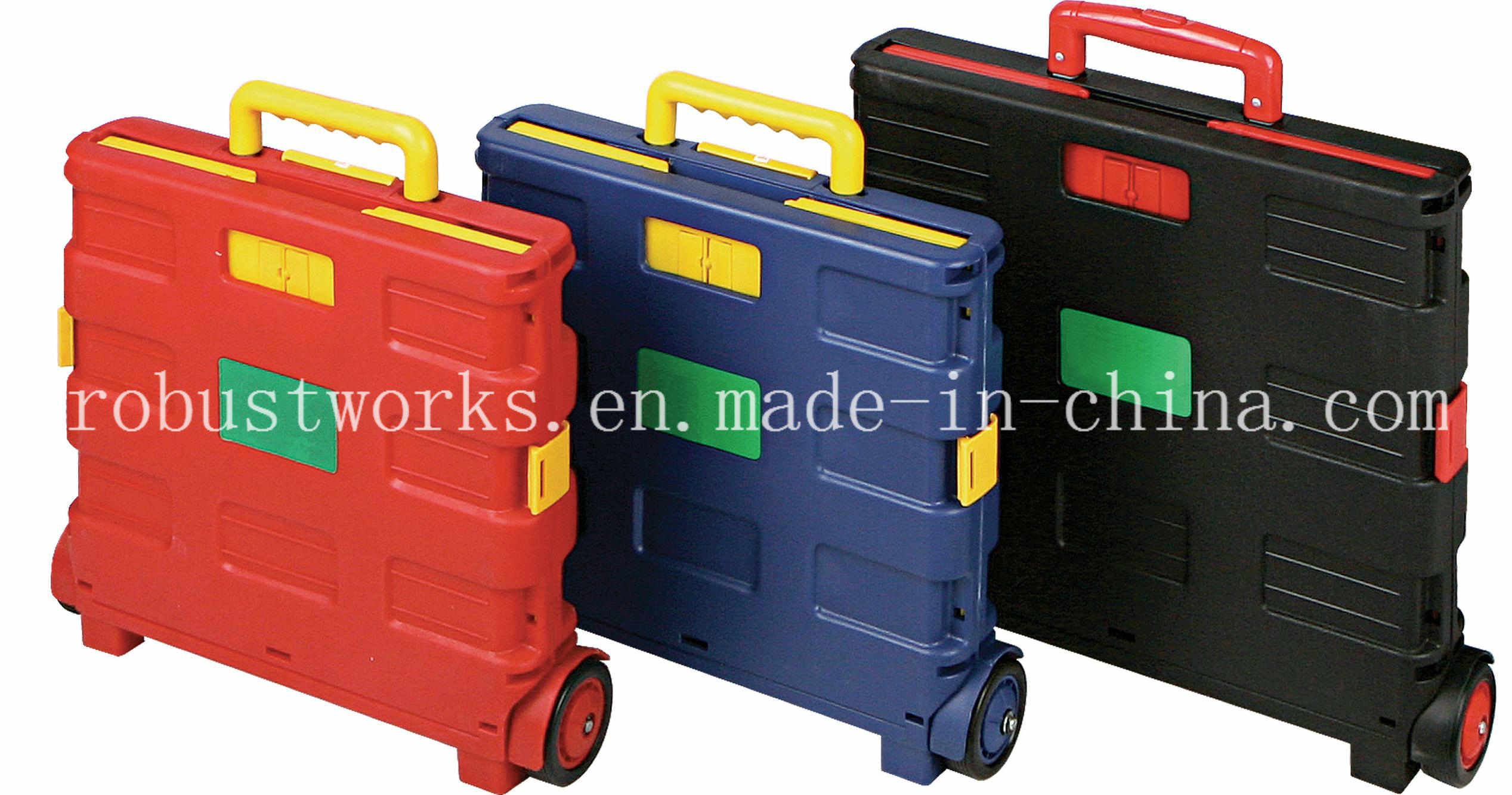 Folding Plastic Shopping Cart (FC401K)