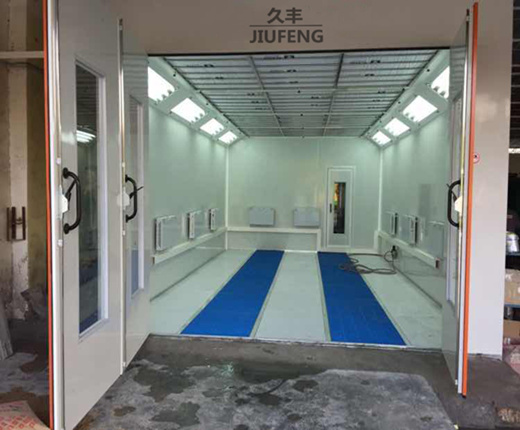 Jf Auto Car Spray Booth Infrared Bake Lamp Car Furniture Painting Room