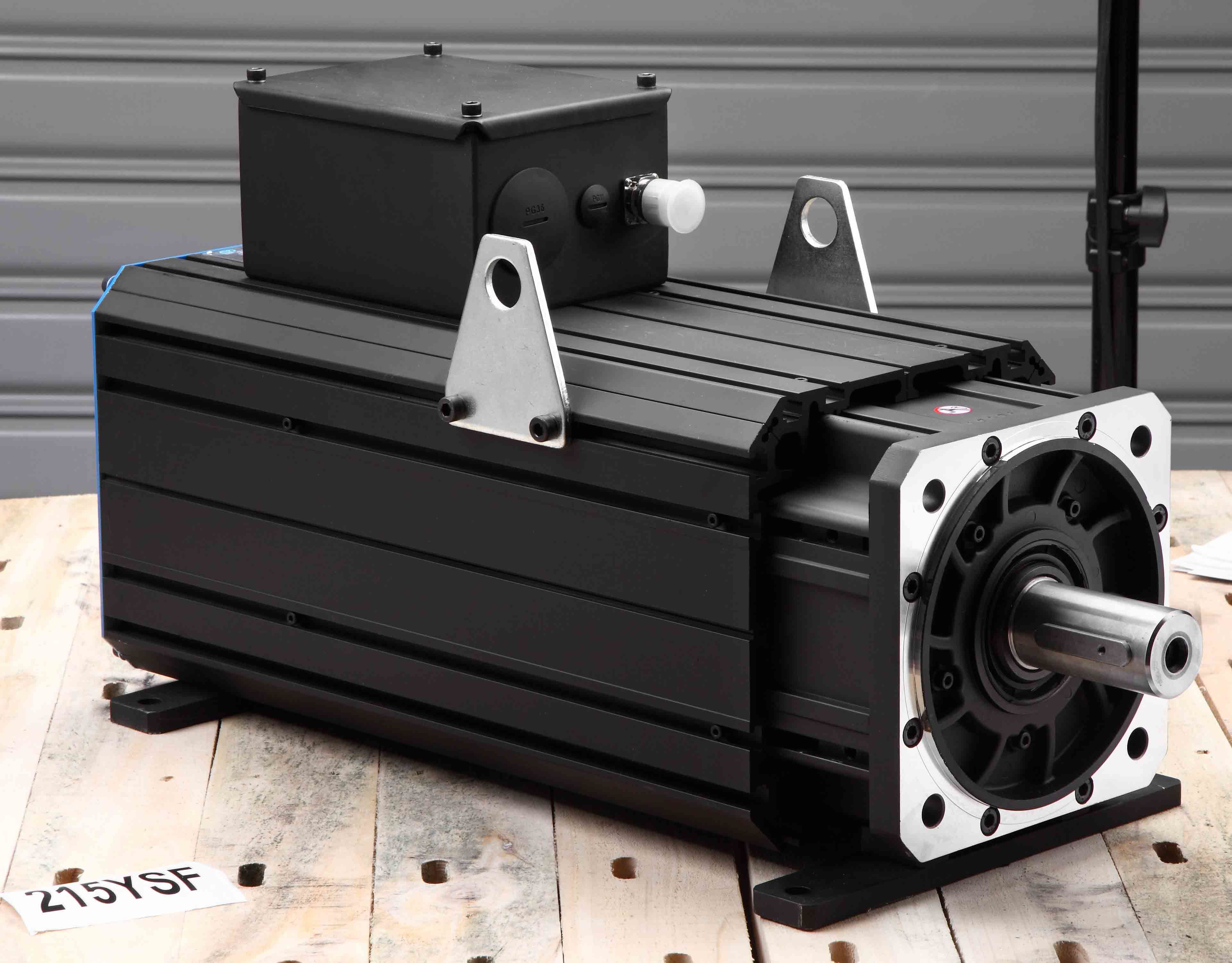 AC Permanent Magnet Servo Motor (215ysf20f 165nm 2000rpm)