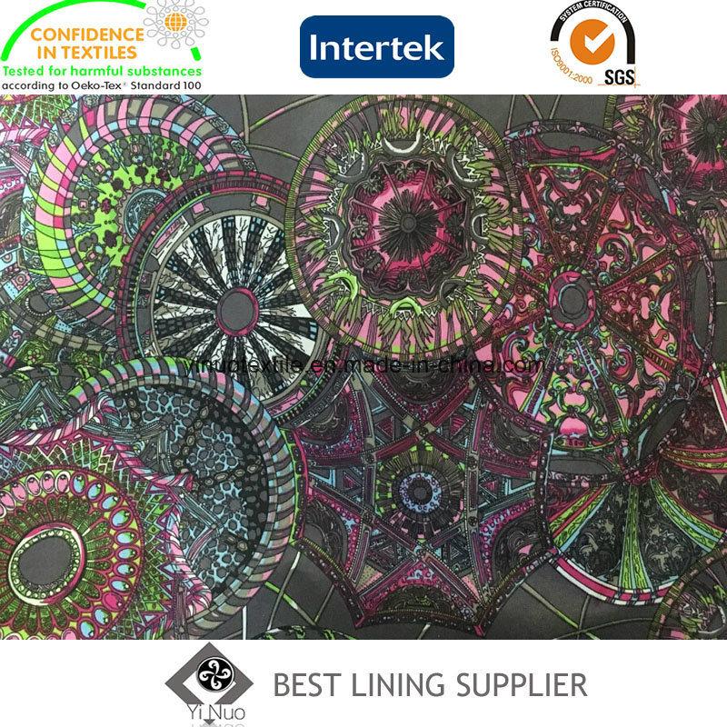 290t Taffeta Printed Lining Fabric for Men′s Jacket