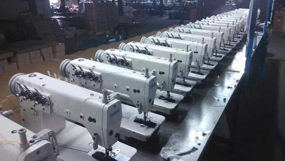 Wd-5200 High-Speed Side Cutter Lockstitch Sewing Machine