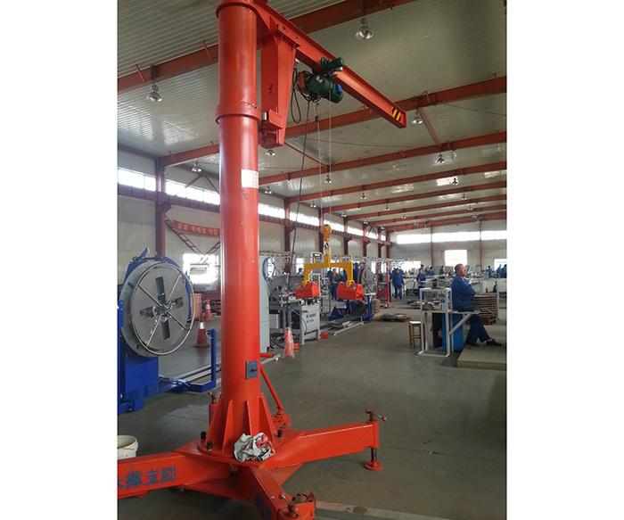 Bzy Type Movable Boom Crane Wtth 360 Degree
