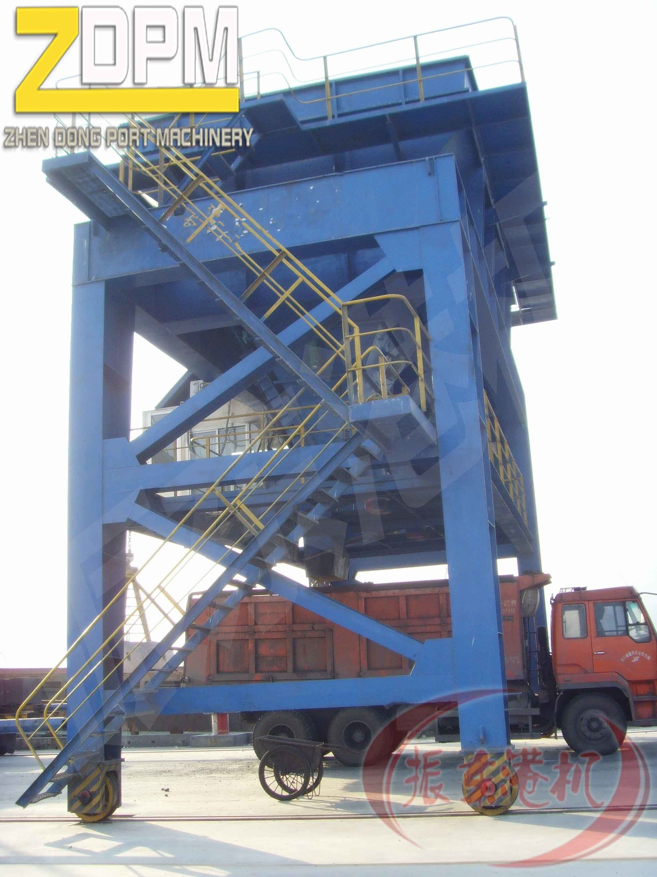 Rail Mounted Unloading Hopper for Sale China Supplier