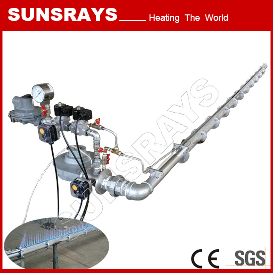 Linear Burner for Industrial Heat Processing