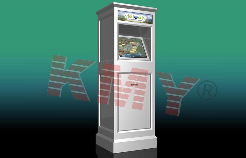 Outdoor Information Checking Touch Screen Kiosk / Self-Service Terminals