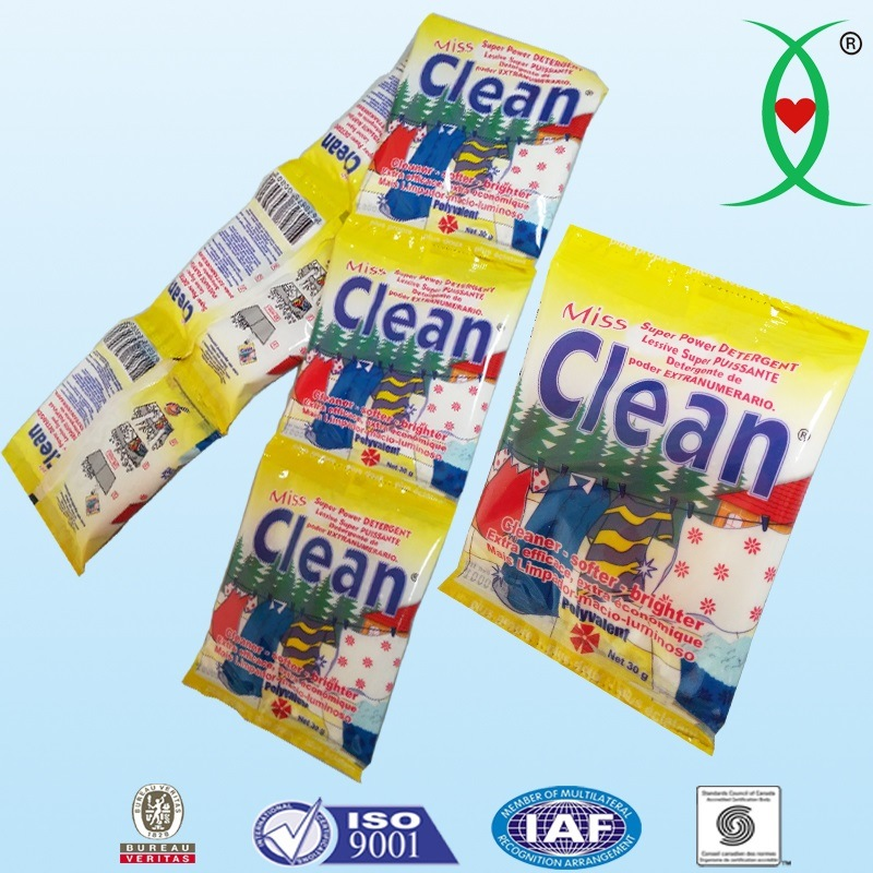 Attractions Small Sachets Washing Powder / Laundry Powder / Detergent Powder