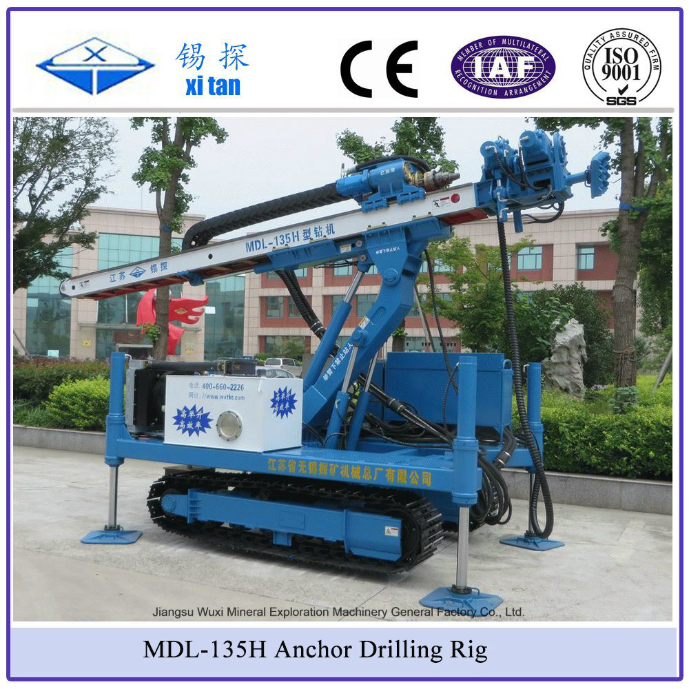 Xitan Mdl-135h Anchor Drilling Rig (Foundation Drilling Machine Micropile Drill)